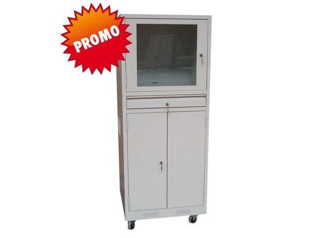 armoire informatique sur roulettes contact cegequip. Black Bedroom Furniture Sets. Home Design Ideas