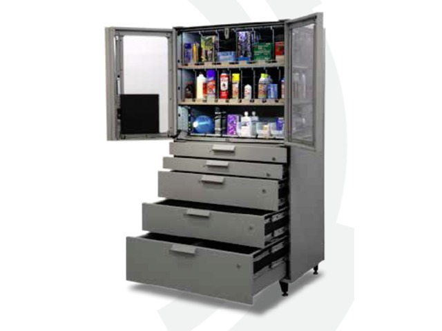 Armoire intelligente avec capteurs MegaStoreTM MegaStore™ 9000 – Double porte_APEX SUPPLYCHAIN TECHNOLOGIES LTD