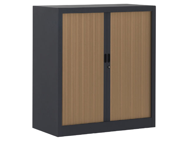 armoire m tal rideaux pvc largeur 90 cm contact manutan collectivites. Black Bedroom Furniture Sets. Home Design Ideas