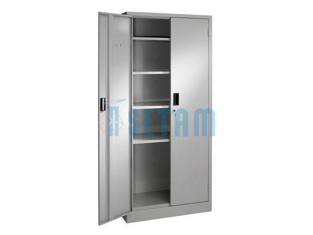 armoire m tallique monobloc 5 niveaux cm. Black Bedroom Furniture Sets. Home Design Ideas