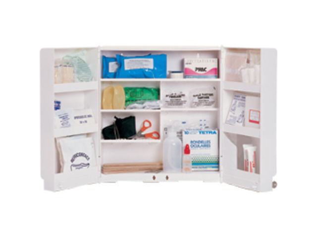 Armoire Plastique 2 Portes Contact Securimed