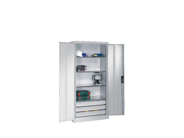 armoire porte battantes tiroirs grande largeur contact. Black Bedroom Furniture Sets. Home Design Ideas