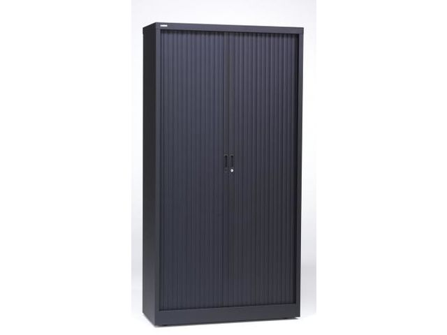 Armoire porte rideau contact rangestock for Meuble bureau a cle