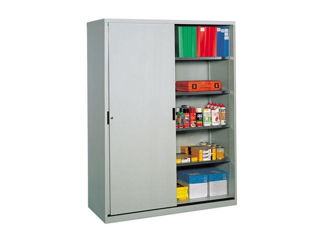 armoire portes coulissantes professionnelle longueur 150 cm contact setam rayonnage et. Black Bedroom Furniture Sets. Home Design Ideas