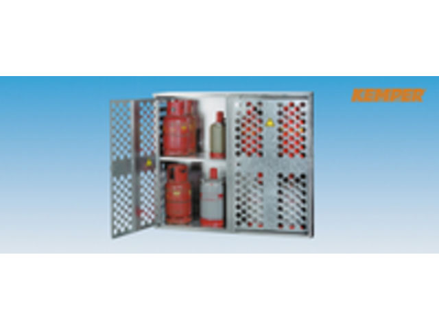 armoire pour bouteilles gaz liquide en t le perfor e 2. Black Bedroom Furniture Sets. Home Design Ideas