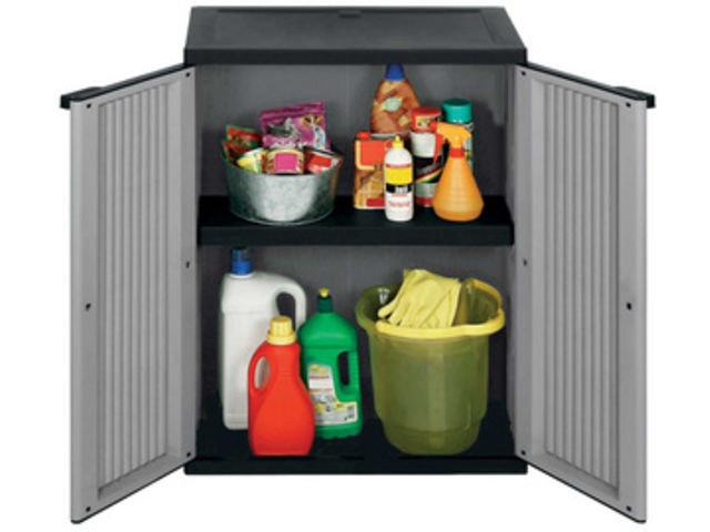 armoire rangement ext rieur interieur en plastique contact rangestock. Black Bedroom Furniture Sets. Home Design Ideas