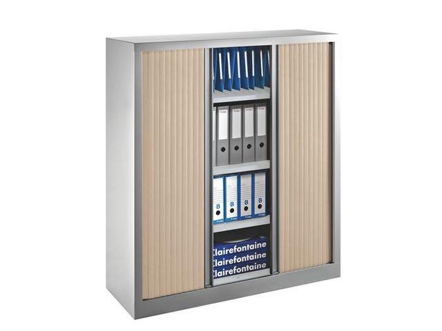 Armoires à rideaux Eco-conçue Décor Monobloc H 136 x L 120 | Contact ...