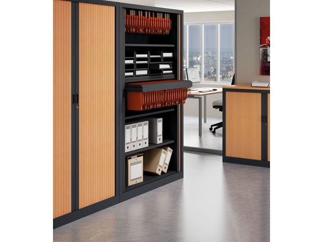 armoire de bureau design armoire de bureau avec porte coulissante brillante mdd armoires mdd. Black Bedroom Furniture Sets. Home Design Ideas
