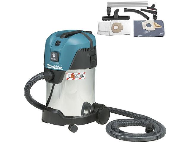 Aspirateur makita eau et poussi res 1000w cuve de 30l for Aspirateur independant