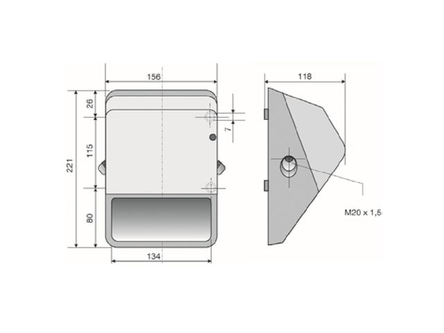 Avertisseur sonore buzzer 108dB IP65 fixation murale | F573 - AE&T -  APPLICATIONS ELECTRONIQUES & TECHNIQUES