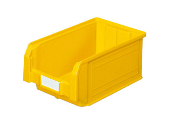 bac bec plastique 9 4 litres jaune contact setam rayonnage et mobilier professionnel. Black Bedroom Furniture Sets. Home Design Ideas