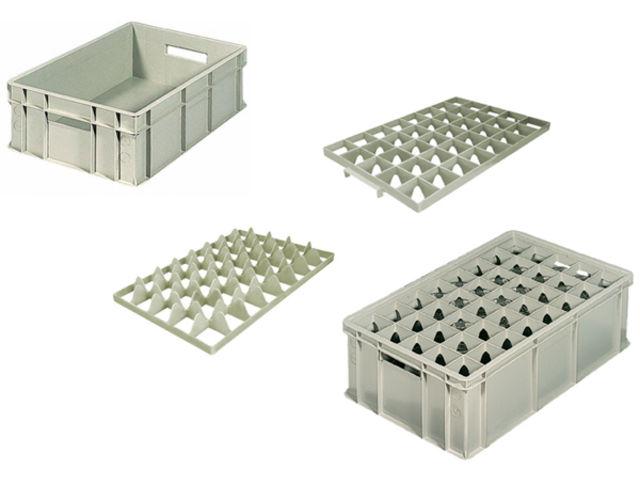 bac de rangement de stockage et de transport pour verres et carafes contact aude plastique. Black Bedroom Furniture Sets. Home Design Ideas