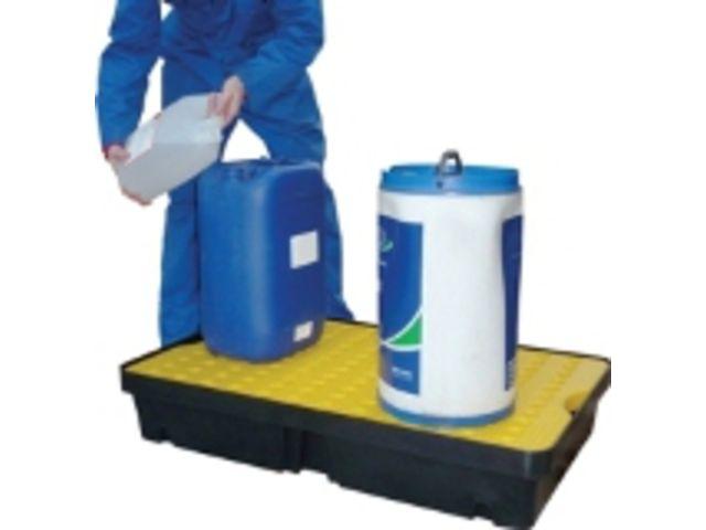 magasin en ligne 36600 e35a0 Bac de rétention avec caillebotis polyéthylène pour petits conditionnements