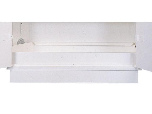 bac de r tention en partie basse pour armoire laboratoires contact setam rayonnage et mobilier. Black Bedroom Furniture Sets. Home Design Ideas
