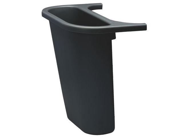 bac de s paration noir pour poubelle de tri s lectif. Black Bedroom Furniture Sets. Home Design Ideas