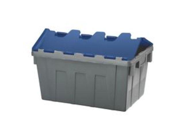 Attractive caisse plastique avec couvercle 14 - Bac de rangement plastique pas cher ...