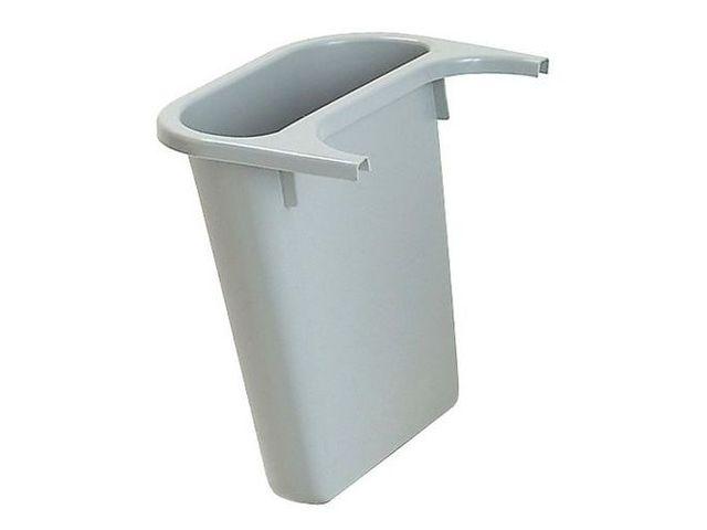 bac de tri pour poubelle rectangulaire rubbermaid 4 5 l contact manutan. Black Bedroom Furniture Sets. Home Design Ideas