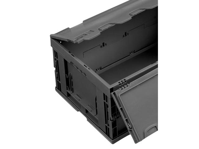 bac pliable conductible avec couvercle charni re sur le grand c t falter 6428 dl. Black Bedroom Furniture Sets. Home Design Ideas