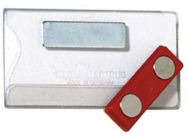 badge magn tique en plastique contact seton contact seton. Black Bedroom Furniture Sets. Home Design Ideas