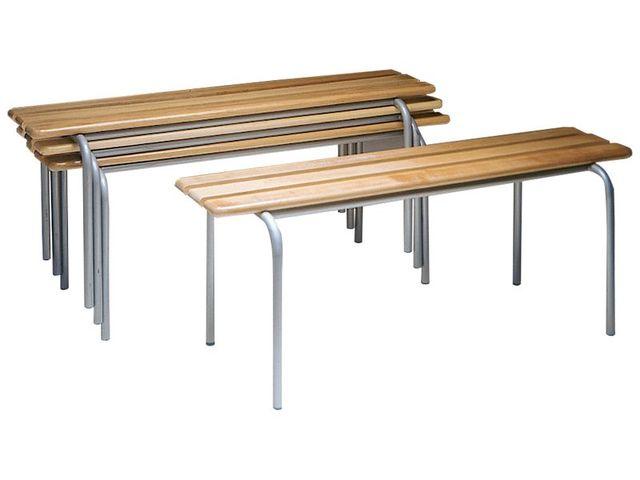 banc de vestiaire en bois contact seton. Black Bedroom Furniture Sets. Home Design Ideas