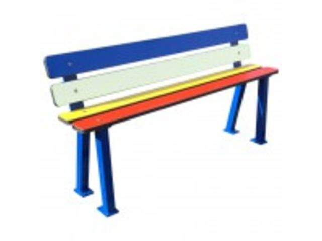 Banc enfant School - Assise H. 290 mm