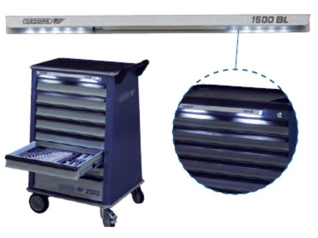 bandeau lumineux pour servantes d atelier 1500bl contact gedore klann france. Black Bedroom Furniture Sets. Home Design Ideas