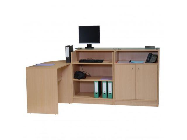 banque d 39 accueil double avec acc s pmr contact roll co. Black Bedroom Furniture Sets. Home Design Ideas