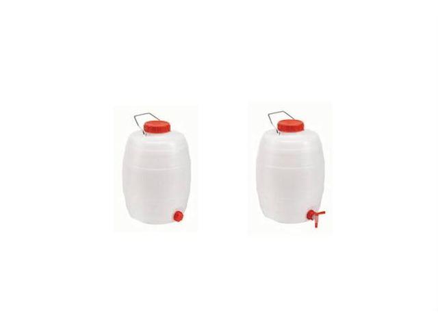Baril pour liquides 5 l avec robinet h x 280x180 - Jerrican alimentaire l avec robinet ...