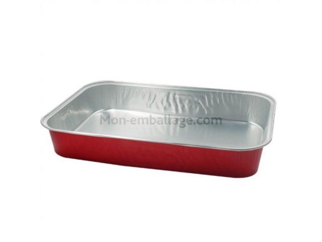 Barquette aluminium 4 kg contact mon emballage - Plat aluminium jetable ...