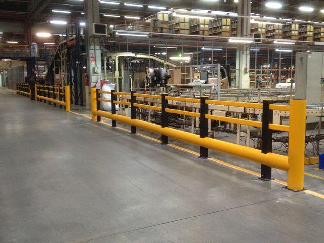 Barri re de protection et s paration pi tons et v hicules contact a safe for Barriere de protection