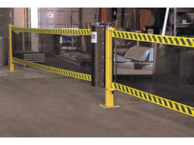 Barri re de s curit spanguard tm safety barrier contact - Barriere de securite safety ...