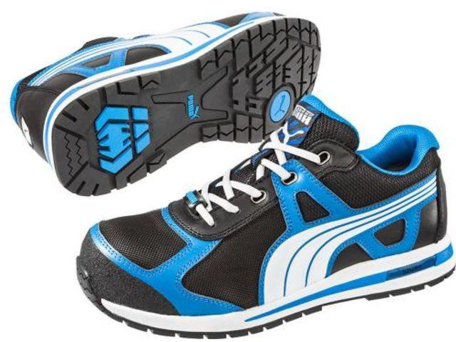 PUMA Chaussures de sécurité mixte basse noirrouge taille 44