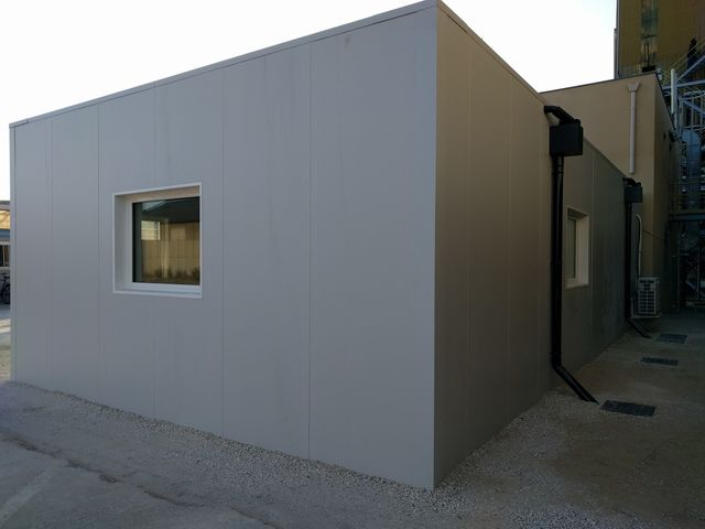 Bâtiment de protection modulaire Blast Proof_MODULO PROTECT_2