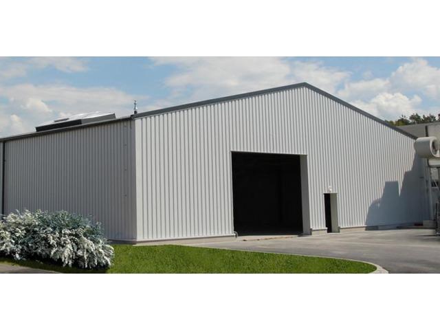 Hangar Galvanisé Kit bâtiment en acier galvanisé kit | contact abri and co