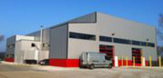 Batiment en kit industry 39 xl contact batiment - Batiment industriel en kit prix ...