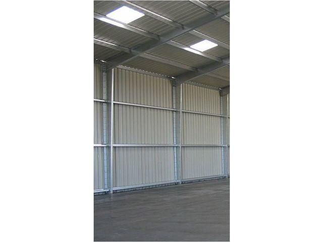 Batiment entrepot metallique de stockage logistique for Prix batiment industriel metallique