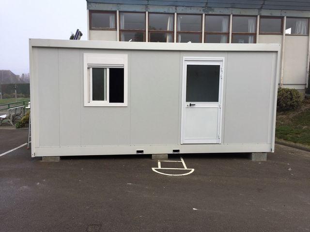 B timent modulaire salles de classe contact escb modulaire for Batiment container