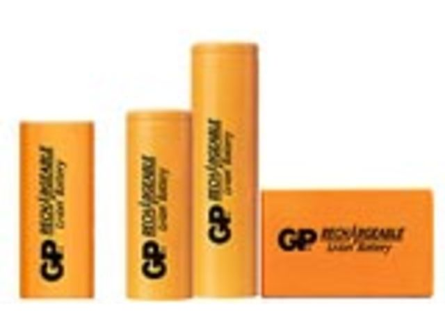 Batteries Li-Ion GP batteries