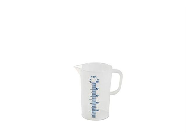 BECHER GRADUE - 500 ML GRADUATION BLEUE EN RELIEF