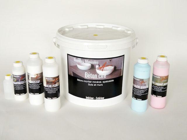B ton cir anti taches pour plan de travail surfaces - Peinture pour salle de bain anti humidite ...