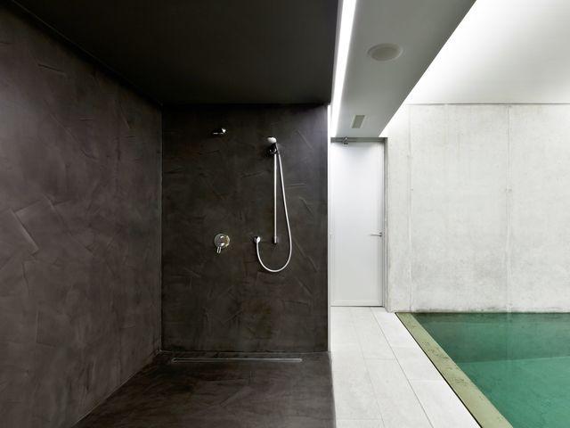 Populaires Béton ciré murs de douche | Contact ARCANE INDUSTRIES CF59