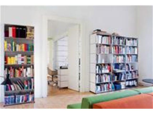 Bibliothèque blanche usm contact terre design