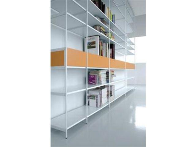 TERRE DESIGN Bibliothèque Terre Design blanche avec tiroirs - Cliquez ...