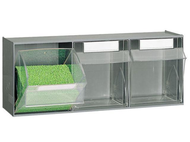 Bloc 3 tiroirs plastiques basculants contact setam - Bloc tiroir plastique ...