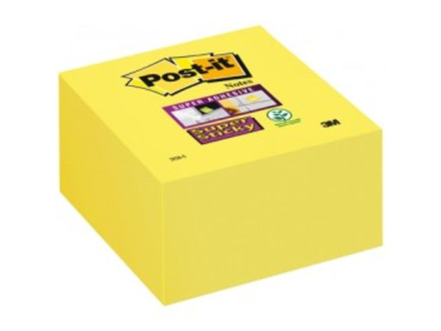 Bloc Notes Jaune Post-it 76 x 76 Bloc de 350 feuilles