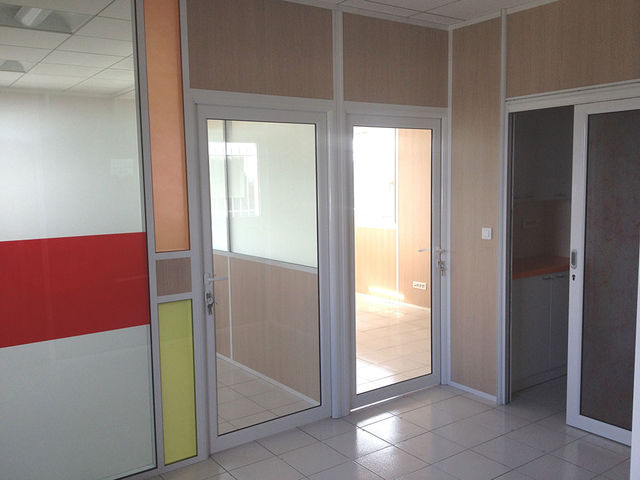 bloc portes porte clarit en verre tremp contact m space
