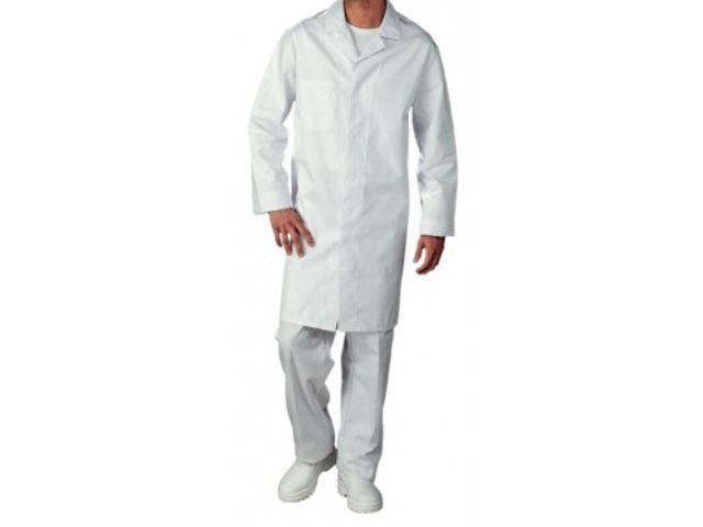 blouse de travail pour homme blanche contact securistock fr. Black Bedroom Furniture Sets. Home Design Ideas