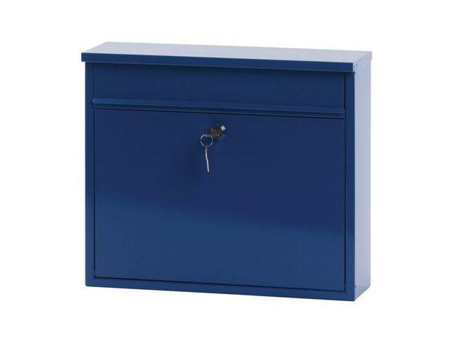 bo te aux lettres murale 11l contact manutan. Black Bedroom Furniture Sets. Home Design Ideas