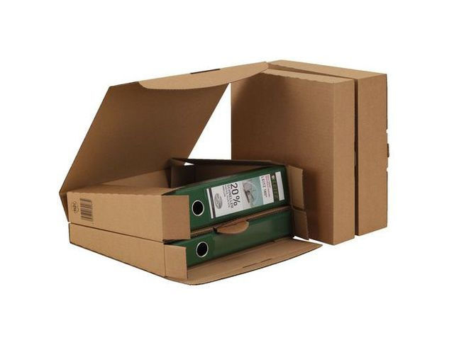 manutan bo te d 39 exp dition carton pour classeur languette cliquez pour zoomer. Black Bedroom Furniture Sets. Home Design Ideas