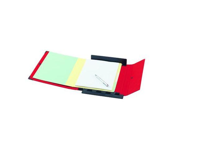 Bo te de classement carton plastifi arianex dos 8 cm rouge contact maxiburo - Boite de classement carton ...